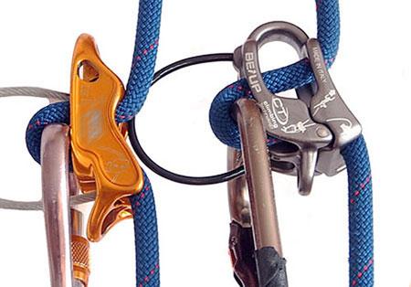 Climbing Technology Klettergurt : Be up von climbing technology tuber sicherungsgerät zum