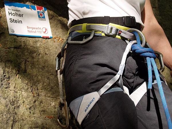 Mammut Klettergurt Erfahrungen : Mammut togir klettergurt hüftgurt zum sportklettern für fels und